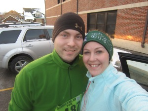Mark and I before the start of the race!